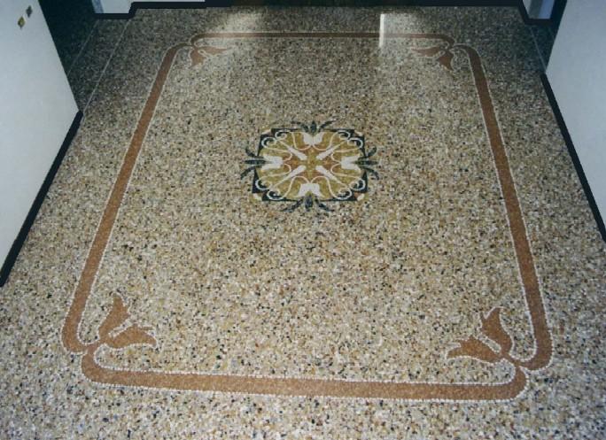Pavimenti alla veneziana soluzioni tradizionali pordenone - Decori per pavimenti ...